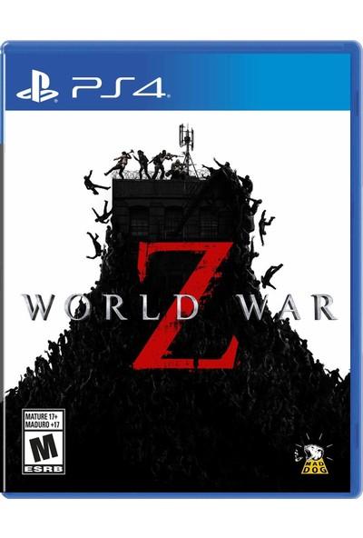 World War Z PS4 Oyun