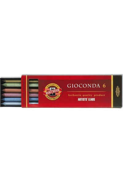 Koh-I Noor Portmin Kalem Yedeği 5.6mm - Metalik Renkler