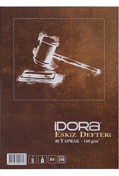 Idora Eskiz Defteri A4 - 40 Yaprak - 140GR.