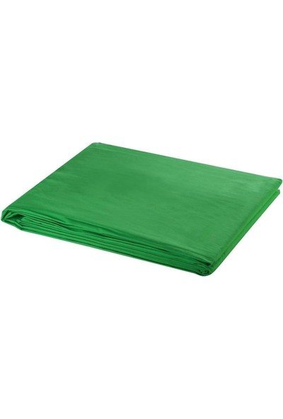 Jinbei Greenbox Chromakey Green Screen Yeşil Fon Perde 2 x 3 m ve 1.90 x 3 m Fon Standı Kit