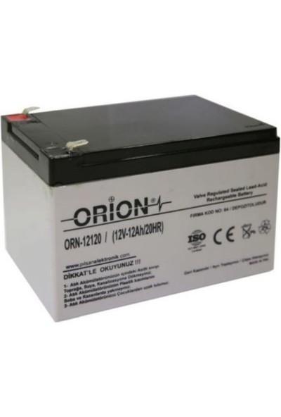 Orion 12V 12AH Kuru Bakımsız Akü