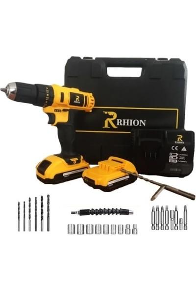 Rhion X-T24 Serisi 24V 5A Şarjlı Matkap Vidalama