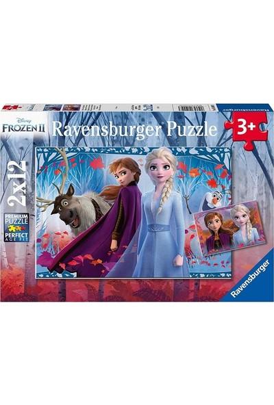 Ravensburger Disney Frozen-2 2X12 Parça Puzzle 050093