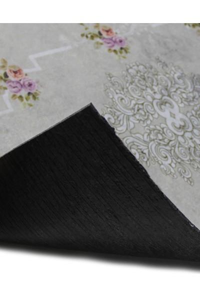 Myfloor Çiçek Desenli Kauçuk Kapı Önü Paspası