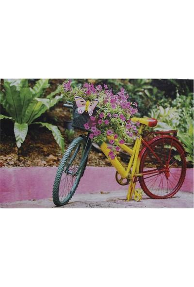 Myfloor Bisiklet Baskılı Kauçuk Kapı Önü Paspası