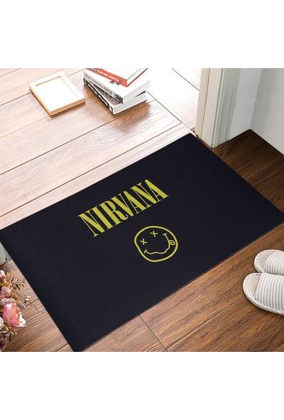 Myfloor Nirvana Baskılı Kauçuk Kapı Önü Paspası