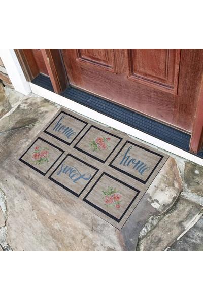 Myfloor Home Sweet Home Yazılı Kauçuk Kapı Önü Paspası