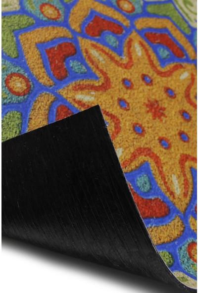 Myfloor Çok Renkli Desenli Kauçuk Kapı Önü Paspası