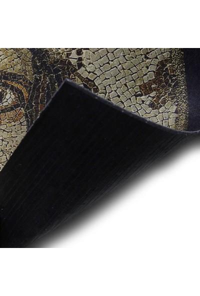 Myfloor Zeugma Çingene Kızı Baskılı Kauçuk Kapı Önü Paspası