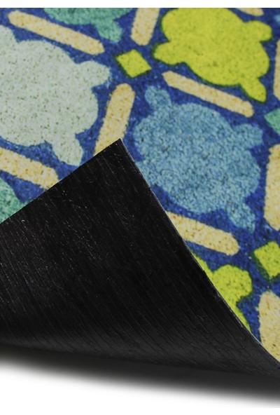 Myfloor Renkli Desenli Kauçuk Kapı Önü Paspası