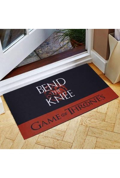 Myfloor Game Of Thrones Bend The Knee Kauçuk Kapı Önü Paspası