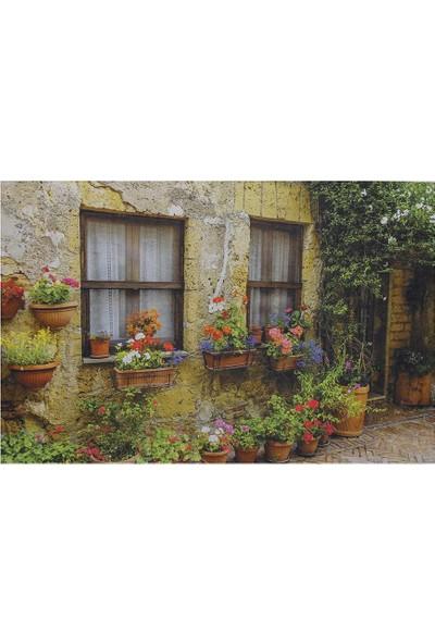 Myfloor Eski Ev Baskılı Kauçuk Kapı Önü Paspası