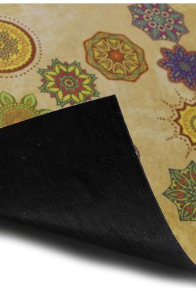 Myfloor Etnik Desenli Kauçuk Kapı Önü Paspası