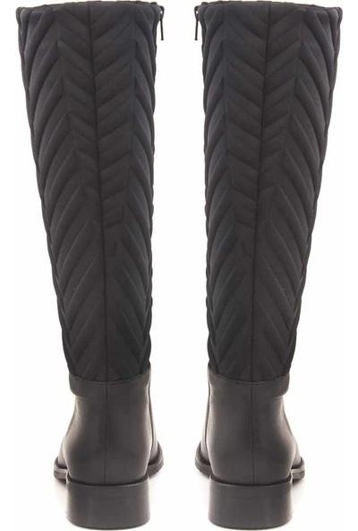 Rouge Deri Kadın Çizme 116-3515
