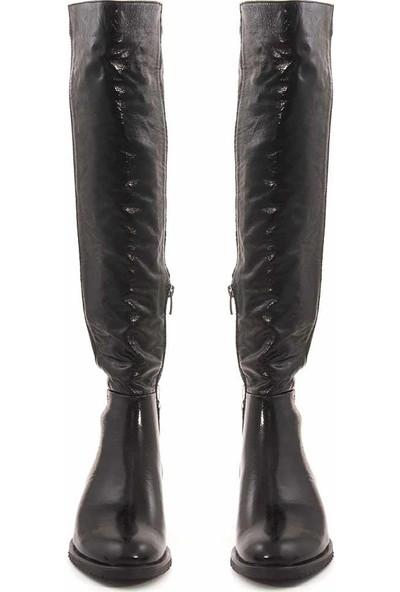 Rouge Deri Kadın Çizme 216-3505
