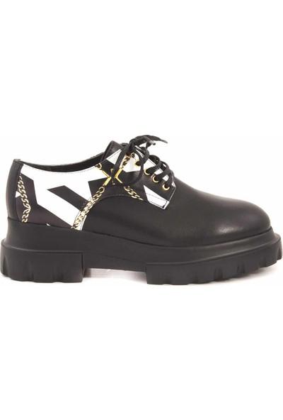 Rouge Deri Kadın Klasik Ayakkabı 4572