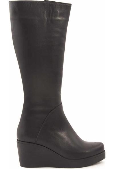 Rouge Deri Kadın Çizme 276-117