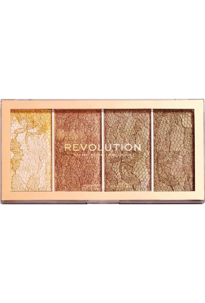 Revolution Vintage Lace Highlighter Paleti