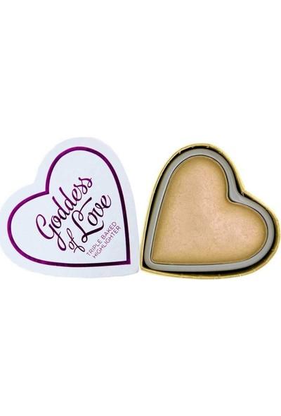 I Heart Revolution Blushing Hearts Highlighter Golden Goddess 5 gr
