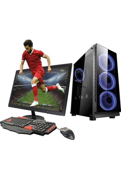 TURBOX ATM920048 Ryzen3 1200 8GB Ram 1TB Hdd 3GB GTX1060 Ekran Kartı 21,5 Monitörlü Masaüstü Bilgisayar