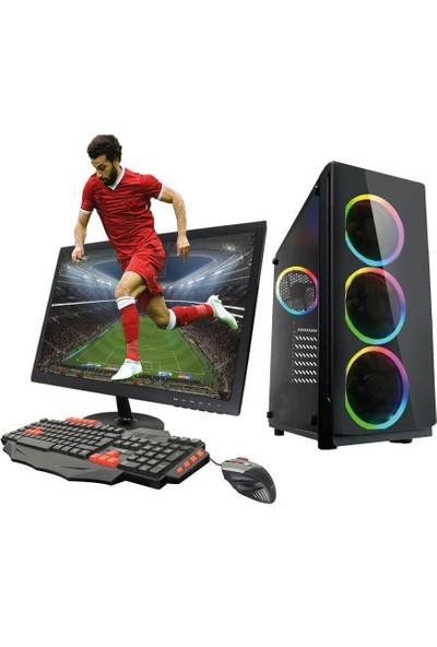 TURBOX ATM9916167 Ryzen5 1600 İşlemci 8GB Ram 1TB Hdd GTX1060 3GB Ekran Kartı 21.5'' Monitör Masaüstü Oyun Bilgisayarı