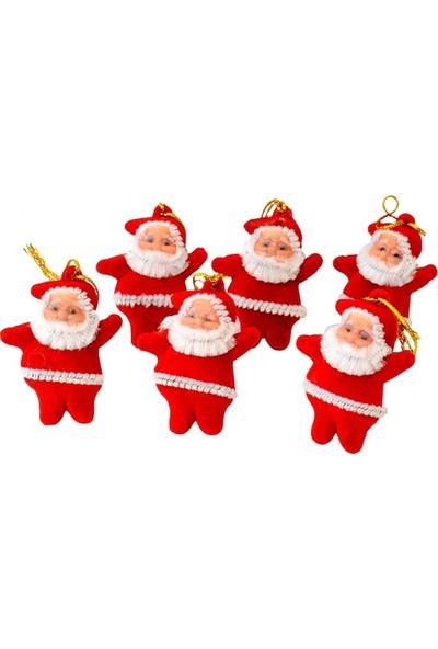 Gringo 6 Adet Noel Baba Yılbaşı Çam Ağacı Süsü