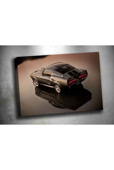Sibiro Mustang Gt Kanvas Tablo zb170