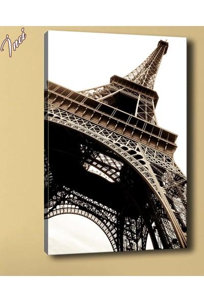 Sibiro Eyfel Kulesi Paris Kanvas Tablo sz2939 35 x 50 cm