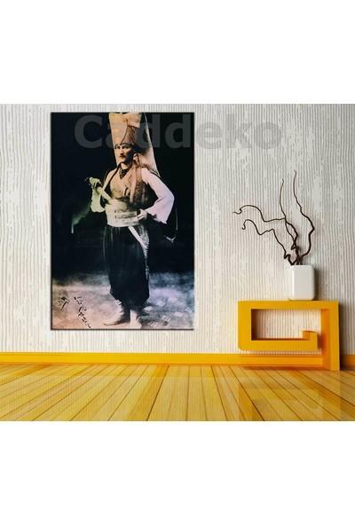 Sibiro Atatürk Yeniçeri Kıyafeti Kanvas Tablo ata237