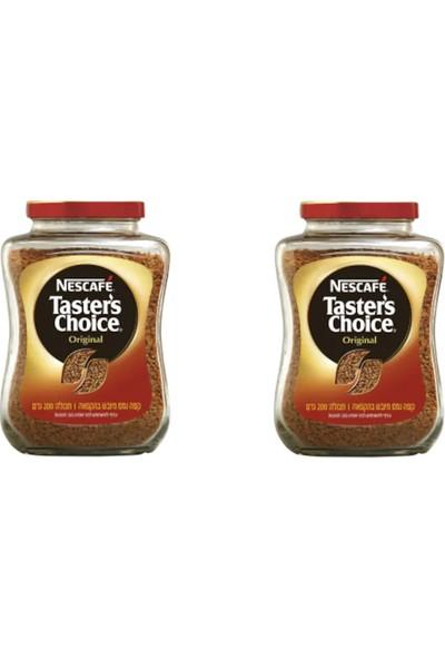 Nescafe Taster's Choice 100 x 2 = 200 gr Çözünebilir Hazır Kahve Özel