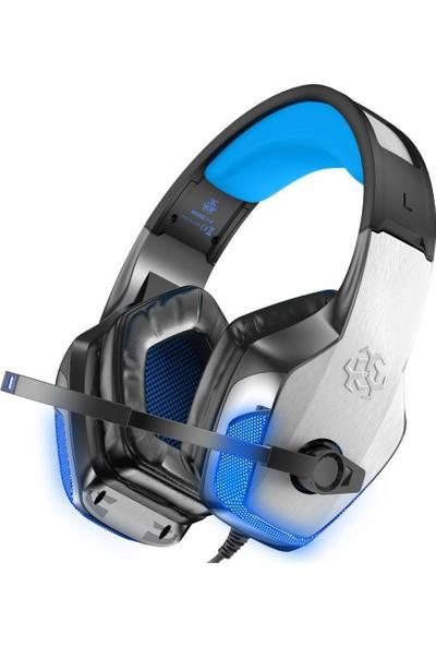 Bengoo X-40 Kualküstü Oyuncu Kulaklık - Siyah-Gri