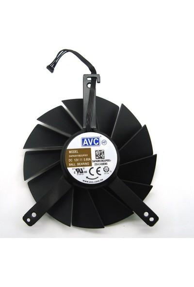 AVC DAPA0815B2UP001/DAPA0815B2UP004 Grafik Kartı Fanı