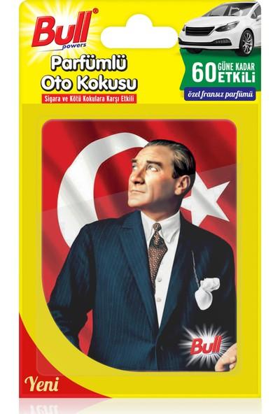 Bullpowers Parfümlü Oto Kokusu (Atatürk) Askılı - Portakal Çiçeği