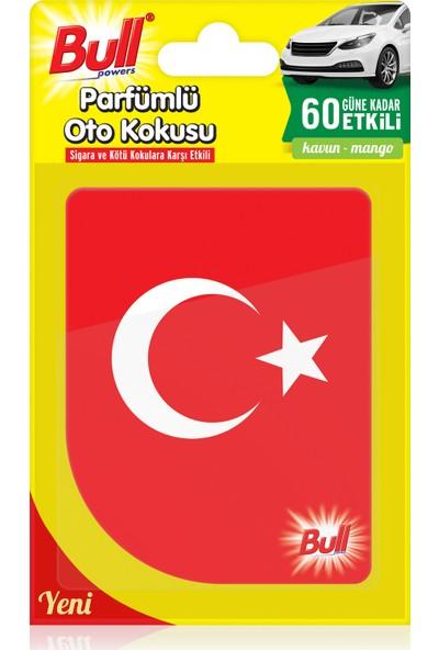 Bullpowers Parfümlü Oto Kokusu (Türk Bayrağı) Askılı - Vanilya
