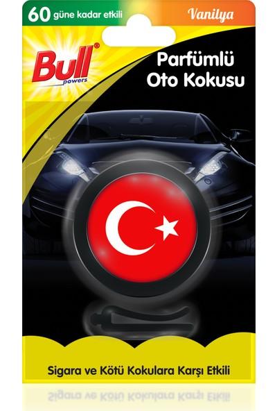 Bullpowers Parfümlü Oto Kokusu (Türk Bayrağı) Vent - Bubblegum