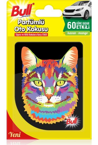 Bullpowers Parfümlü Oto Kokusu (Kedi) Askılı - Bubblegum