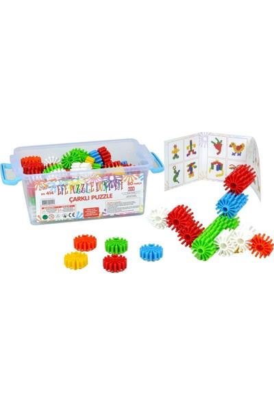 Efe Oyuncak Eğitici Puzzle 80 Parça