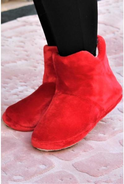RedPlay Düz Kadın Panduf Ev Ayakkabısı