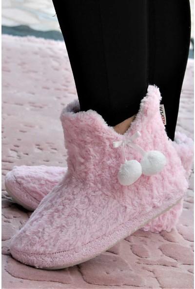 RedPlay Pinky Kadın Panduf Ev Ayakkabısı Ev Botu