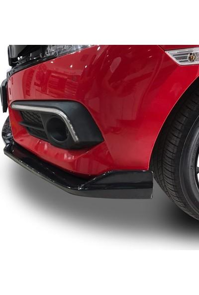Bg Plast Honda Civic Fc5 Ön Lip (Plastik)