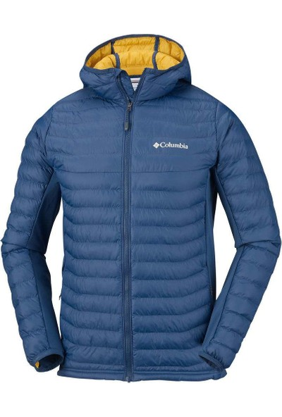 Columbia Powder Lite Light Hooded Erkek Mont 1773271-470