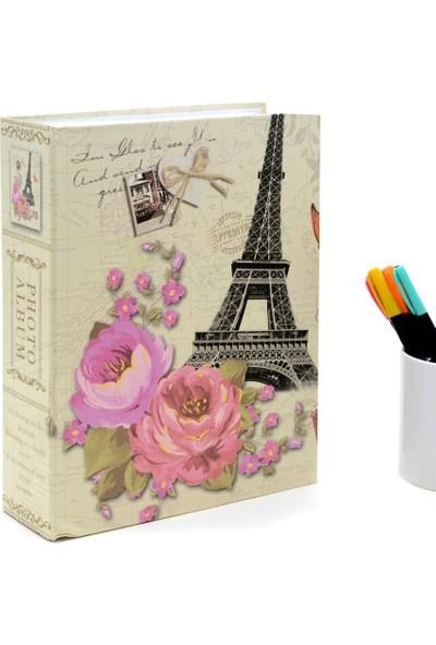 Nobby Star 15 x 21 Ebatında 100'lük Paris Desen Fotoğraf Albümü Eyfel Kulesi
