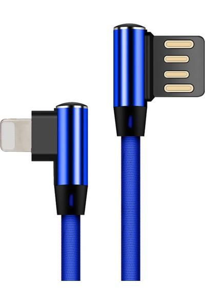 Wsken 5V 2.1A Lightning Hızlı Şarj Veri Kablosu
