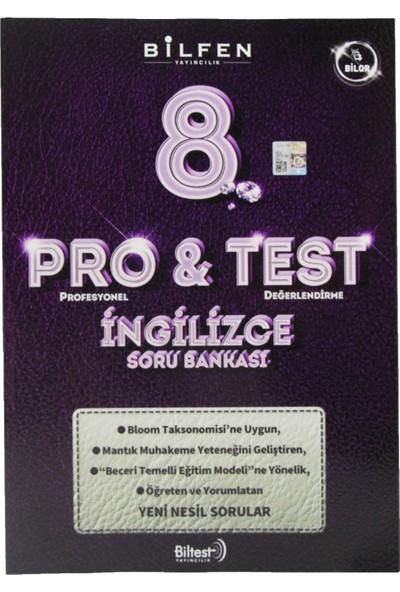 Bilfen 8. Sınıf Pro & Test Ingilizce Soru Bankası