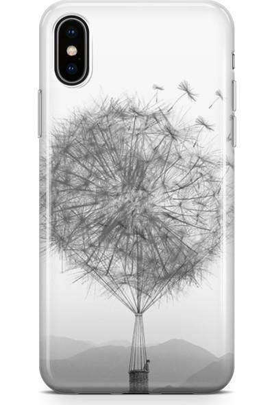 Lopard Apple iPhone Xs Max Kılıf Silikon Arka Kapak Koruyucu Hindiba Balon Desenli