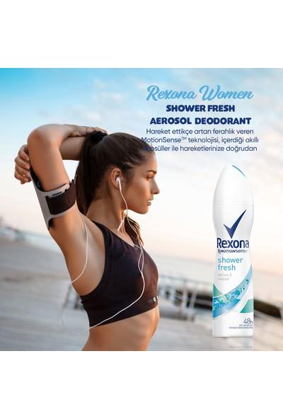 Rexona Shower Fresh Antiperspirant Kadın Sprey Deodorant 150 ML