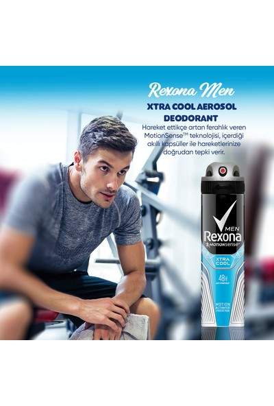 Rexona Men Xtra Cool Antiperspirant Sprey Deodorant 150 ML