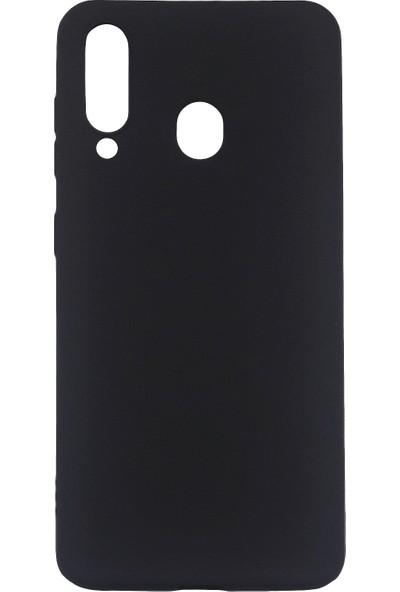 Samsung Galaxy M40 (SM-M405) Silikon Cep Telefonu Kılıfı (Siyah)