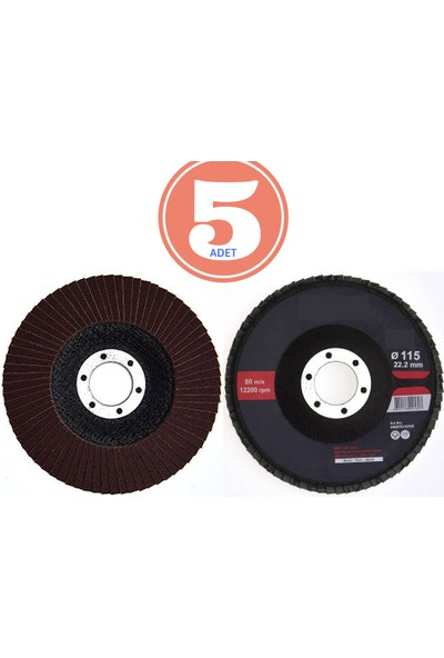 Transformacion Maktc 115X22 5 Adet P80 Flap Disc