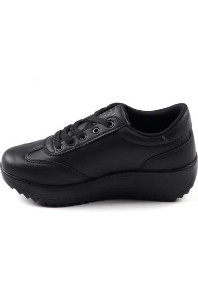 Parley Siyah Günlük Kalın Taban Kadın Spor Ayakkabı